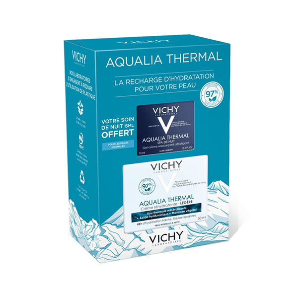 AQUALIA THERMAL - Coffret Aqualia Thermal Réhydratant - texture Légère