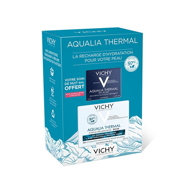 AQUALIA THERMAL - Coffret Aqualia Thermal Réhydratant - texture Riche