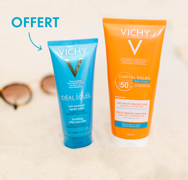 CAPITAL SOLEIL - BEACH PROTECT - Lait multi-protection SPF 50