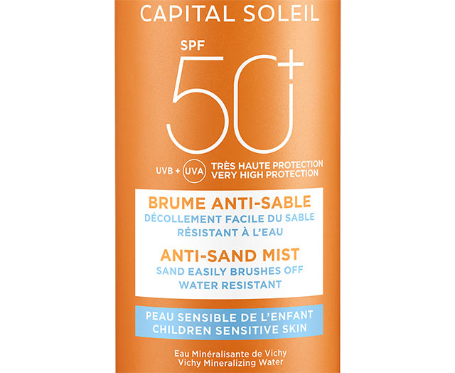 CAPITAL SOLEIL - Brume Anti-sable enfants SPF 50+