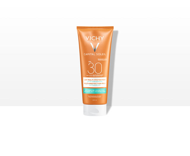 CAPITAL SOLEIL - Lait multi-protection SPF30
