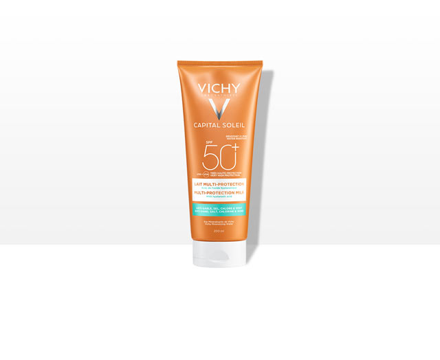 CAPITAL SOLEIL - Lait multi-protection SPF50+
