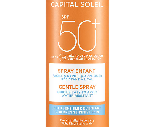 CAPITAL SOLEIL - Spray Enfants SPF 50+
