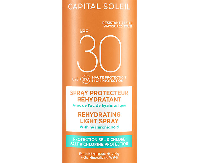 CAPITAL SOLEIL - Spray protecteur réhydratant SPF30