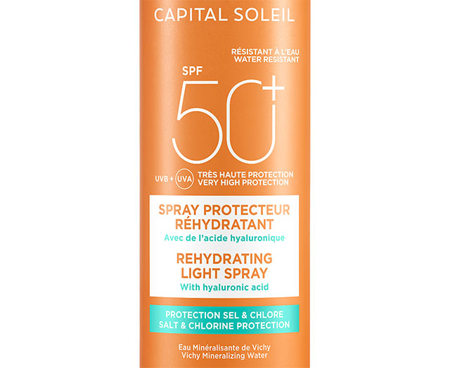 CAPITAL SOLEIL - Spray protecteur réhydratant SPF50+