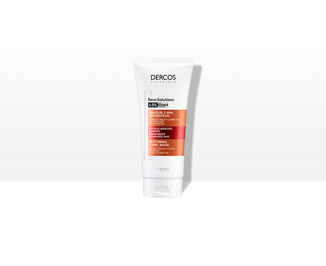 DERCOS TECHNIQUE - Kera-Solutions Masque 2min. Réparateur
