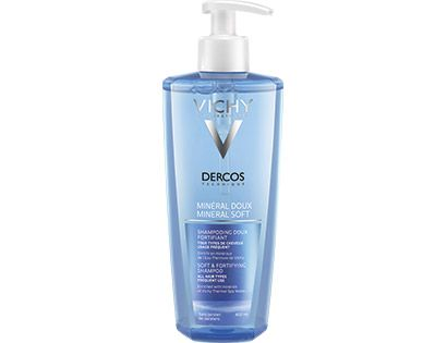 DERCOS - MINERAL DOUX Shampooing doux fortifiant