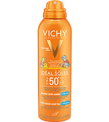 IDEAL SOLEIL - Brume Anti-sable enfants SPF 50+