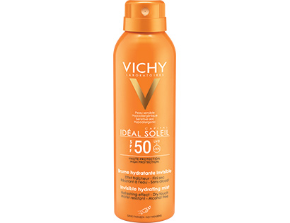 IDEAL SOLEIL - Brume hydratante invisible SPF 50