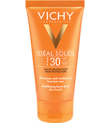IDEAL SOLEIL - Emulsion Toucher Sec SPF 30