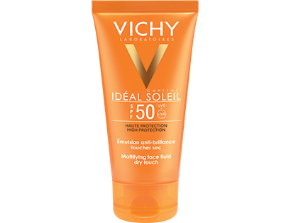 IDEAL SOLEIL - Emulsion Toucher Sec SPF 50