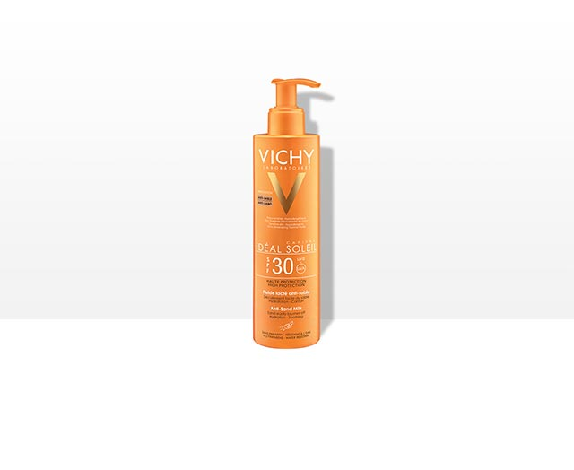 IDEAL SOLEIL - Fluide lacté Anti-sable SPF 30