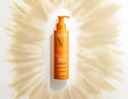 IDEAL SOLEIL - Fluide lacté Anti-sable SPF 50+