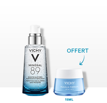 MINERAL 89 - Coffret Minéral 89 - Aqualia Thermal riche 15 ml offert