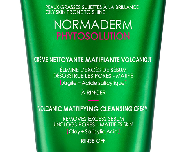 NORMADERM - Normaderm Phytosolution - Crème nettoyante matifiante volcanique