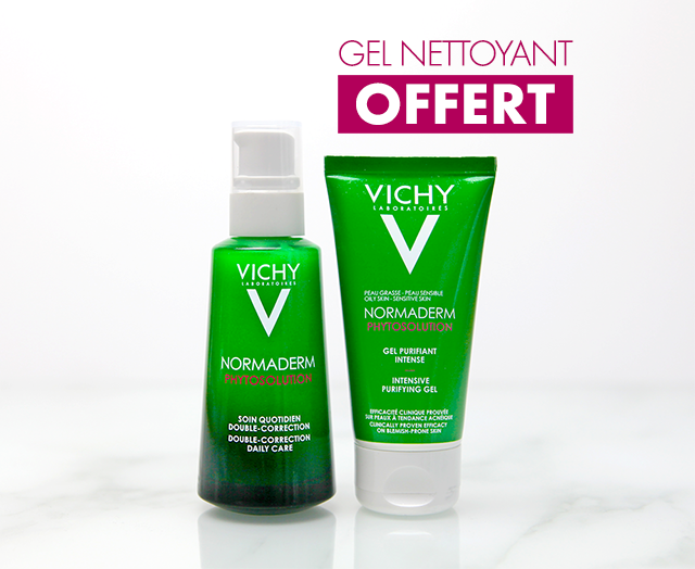 NORMADERM - Phytosolution - Soin quotidien double-correction