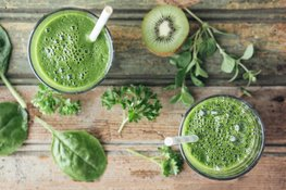 smoothie green bronzage