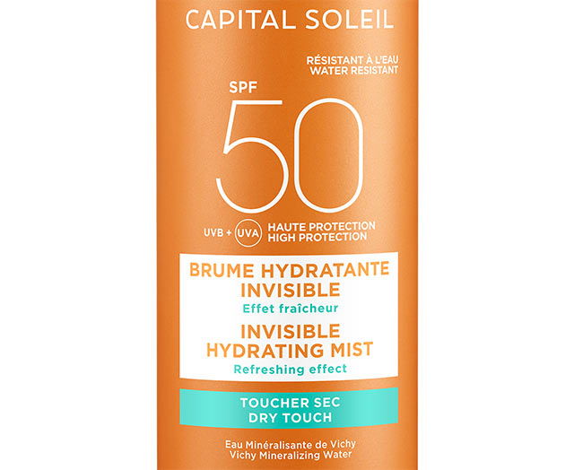 CAPITAL SOLEIL - Brume hydratante invisible SPF 50