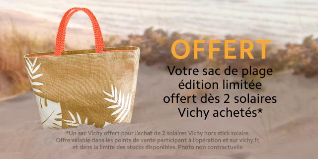 Sac solaire offert