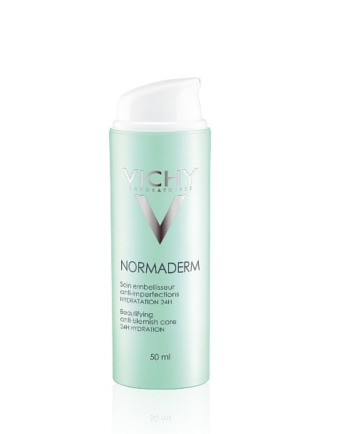 Le CV du soin correcteur anti-imperfections hydratation 24h de Normaderm