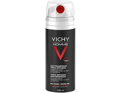 VICHY HOMME - Anti-transpirant triple diffusion